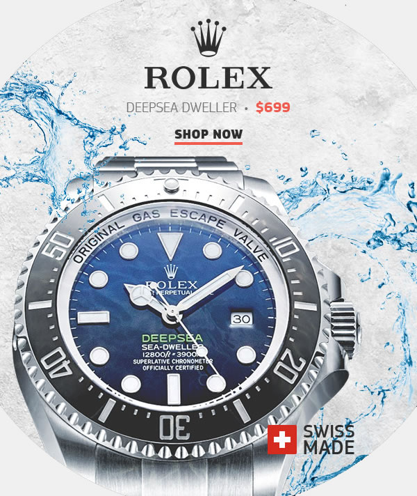 Replica Rolex Sea-Dweller Black