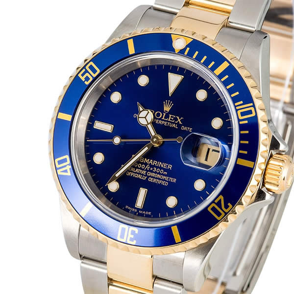 Submariner Tachymeter Gold and Steel