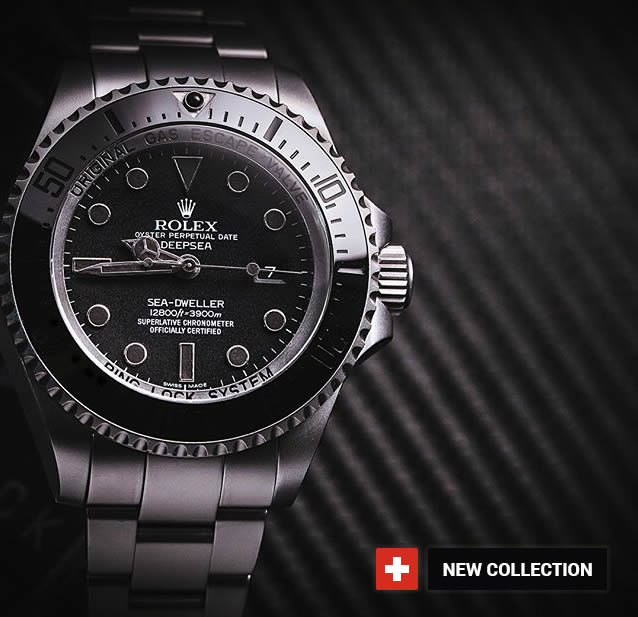 Sea-Dweller Deepsea Rolex  fake